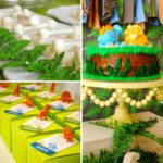 Dinosaur Galore Baby Shower