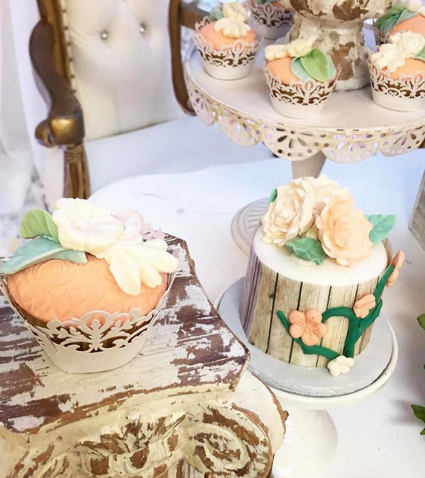 elegant-garden-baby-shower-mini-cake