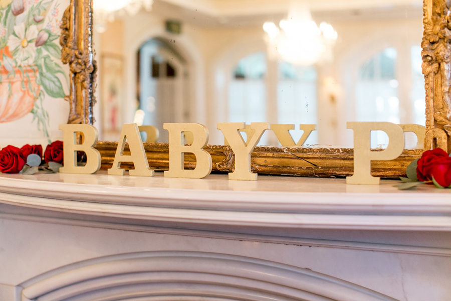 elegant-woodland-baby-shower-large-letters