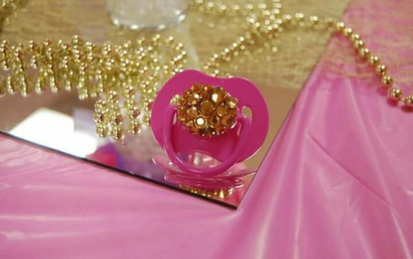 golden-and-pink-baby-shower-pacifier
