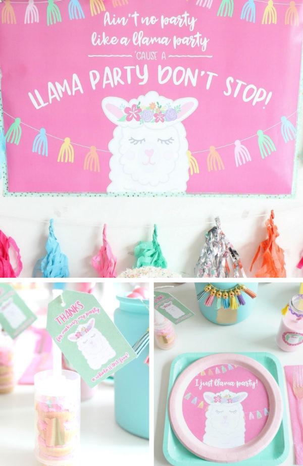 pastel-llama-party