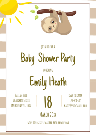 editable-sloth-themed-baby-shower-invitation