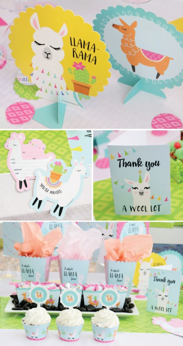 llama-baby-shower-thank-you-and-decors