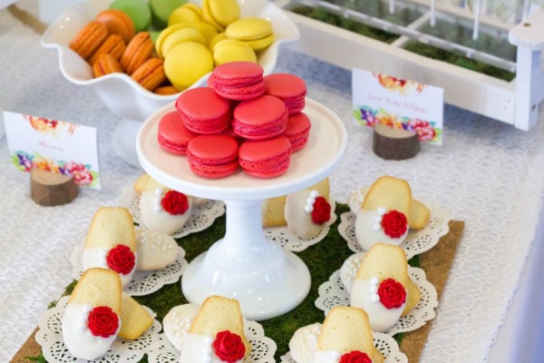bold-and-bright-baby-shower-colorful-macarons