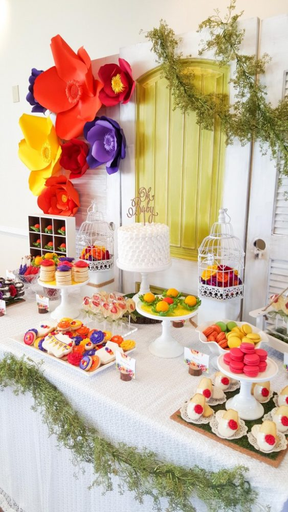 bold-and-bright-baby-shower-dessert-table