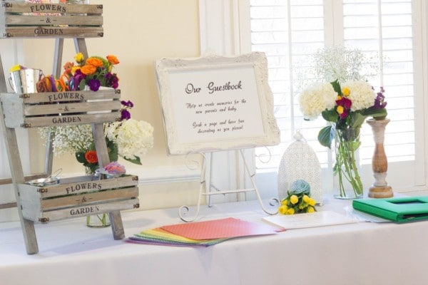 bold-and-bright-baby-shower-guest-book