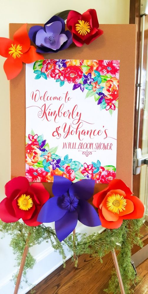 bold-and-bright-baby-shower-welcome-sign