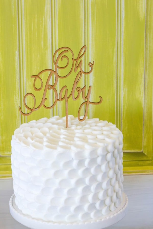bold-and-bright-baby-shower-white-cake