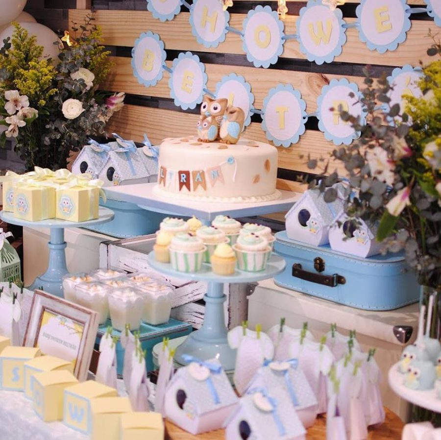 sweet-baby-blue-owl-shower-dessert-table