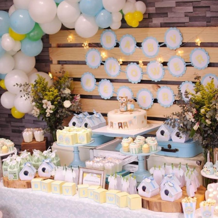 sweet-baby-blue-owl-shower-treat-table
