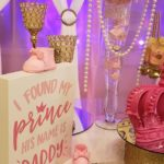 Pink and Gold Princess Baby Shower