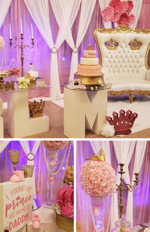 pink-and-gold-princess-baby-shower