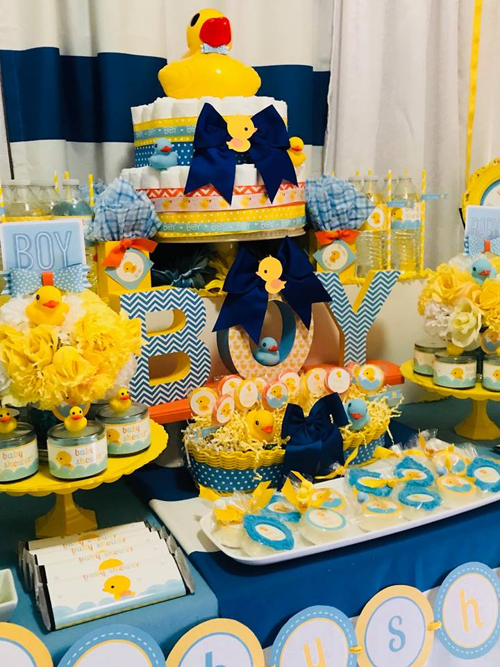blue-and-yellow-rubber-ducky-baby-shower-desserts