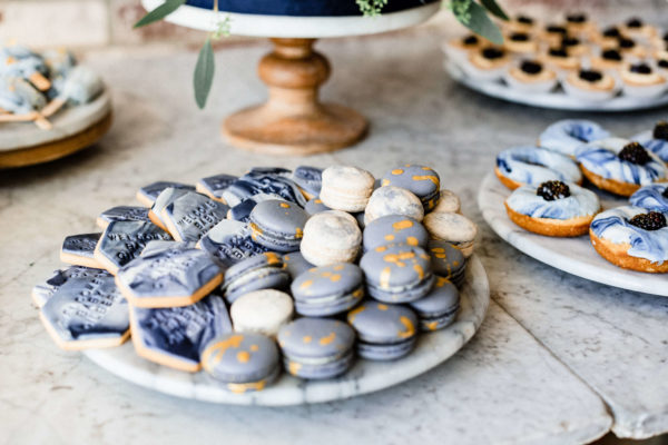 blueberry-and-lavender-macaroons