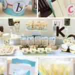 ABC Alphabet Baby shower Ideas