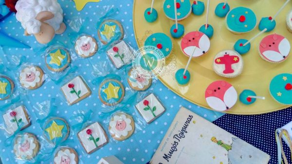 fairytale-little-prince-baptism-sweets-foxes-elephants-lambs-stars