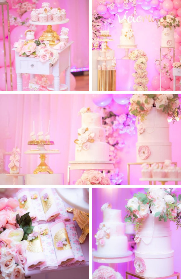 baby-girls-pink-and-gold-baby-shower