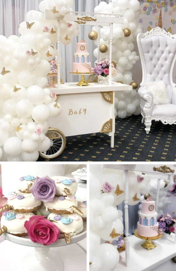 butterfly-and-unicorn-baby-shower-decorations