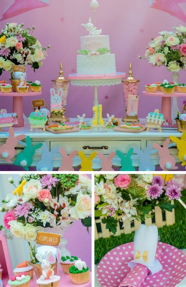 Cute Bunny baby shower inspiration