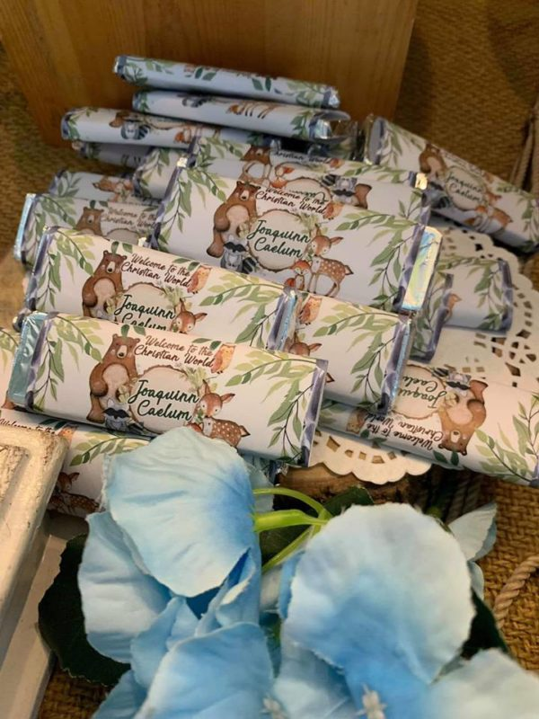 jungle-safari-christening-cute-wrapped-treat