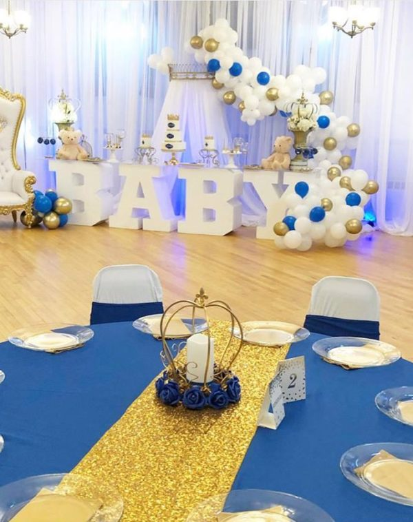 prince-baby-shower-guest-tables