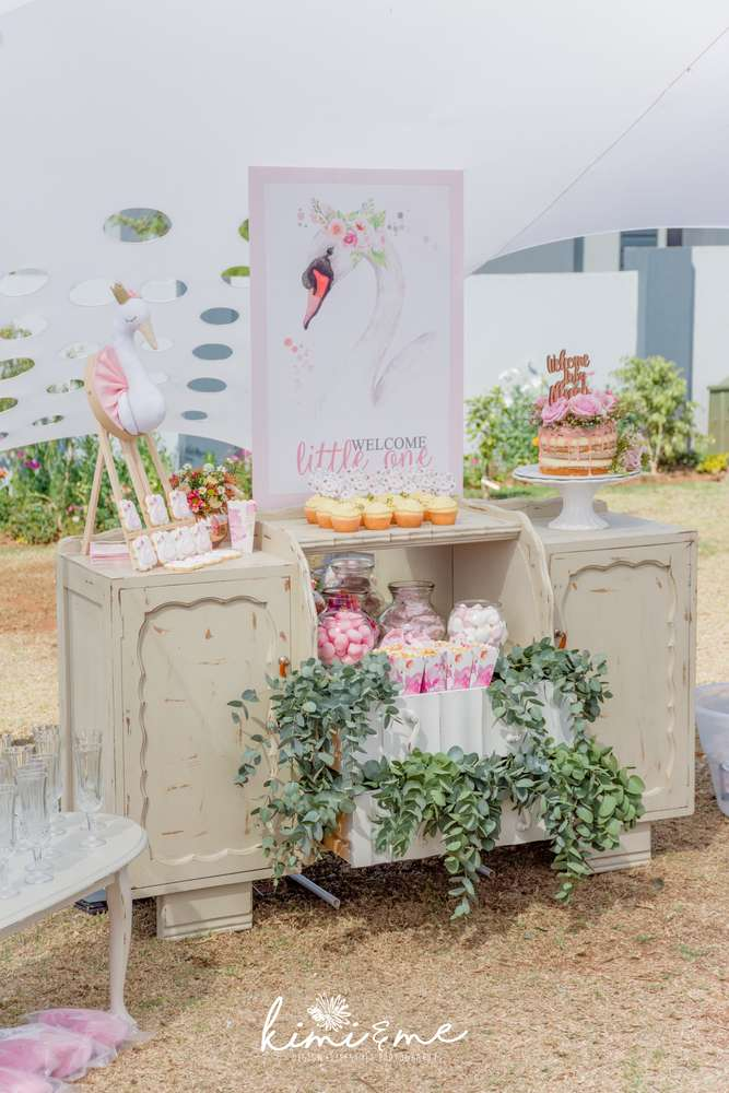sweet-swan-princess-shower-dessert-table
