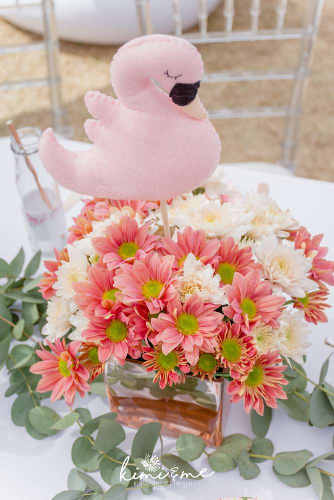 sweet-swan-princess-shower-pink-flowers