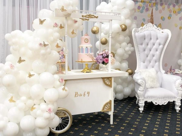 butterfly-and-unicorn-baby-shower-dessert-table