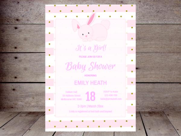 editable-pink-bunny-baby-shower-invitation