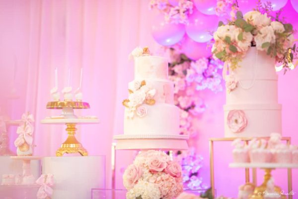 elegant-pink-and-gold-baby-shower-cake