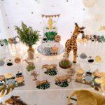 100 days Modern Gold Safari Celebration