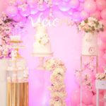Baby Girl's Pink and Gold Baby Shower