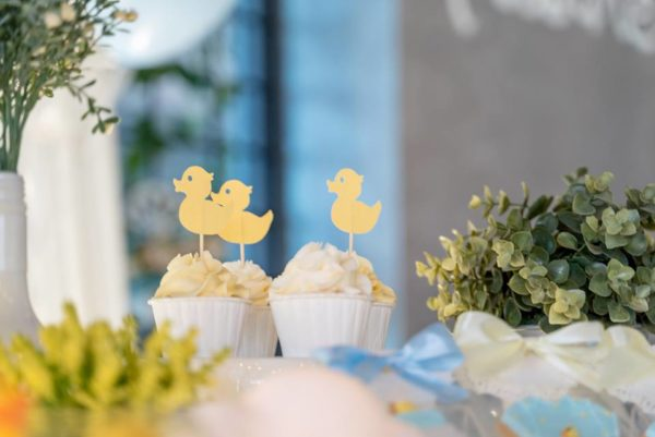 yellow-duck-cupcake-toppers-paper