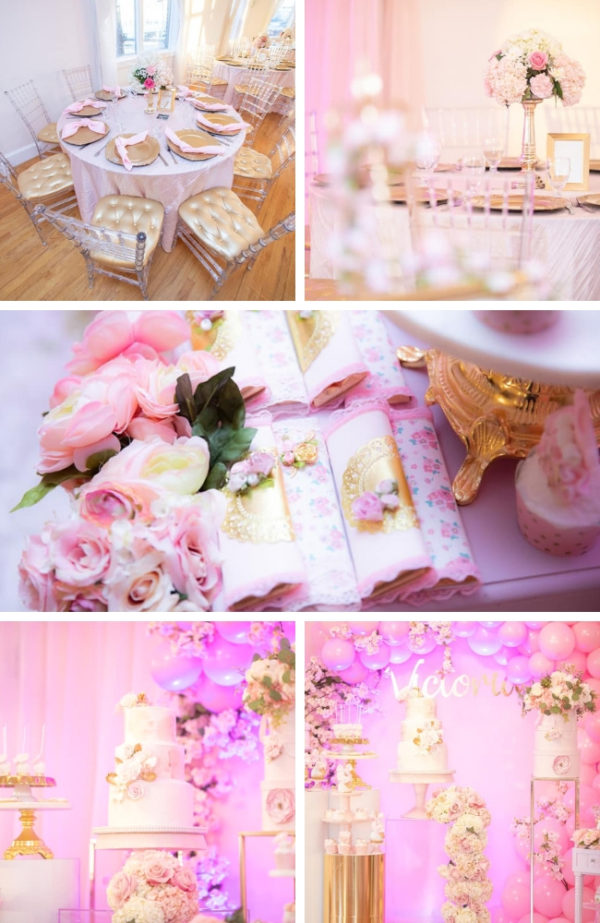 beautiful-pink-and-gold-baby-shower