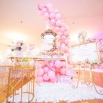 Beautiful Pink and Gold Baby Shower