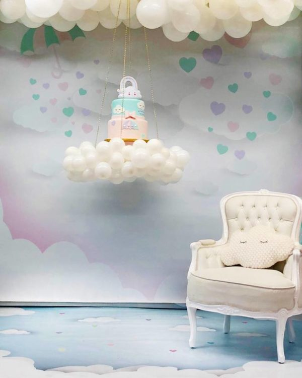 floating-on-cloud-baby-shower-cake