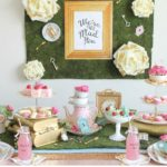Alice in Wonderland Inspired Tea Party Baby Shower Ideas