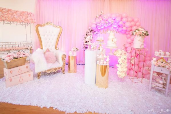 pink-and-gold-baby-shower-party-room