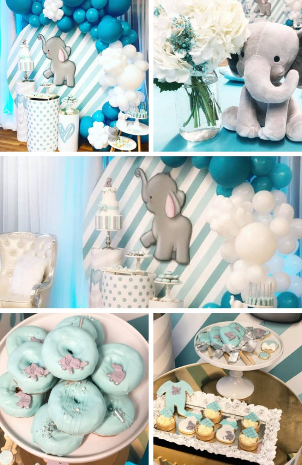 teal-baby-elephant-baby-shower