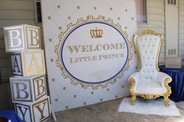 huge welcome little prince welcome poster