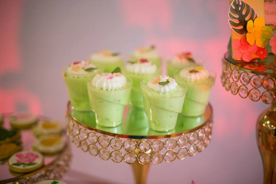 Tropical-Baby-Naming-Ceremony-Green-Dessert