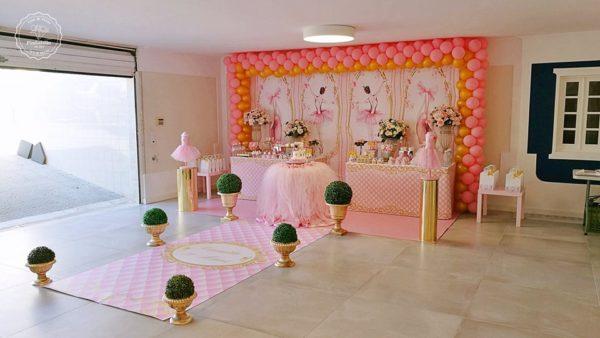 pink-ballerina-party-runner-dessert-table