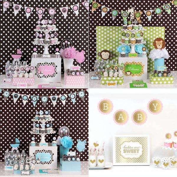 baby shower decoration party kit