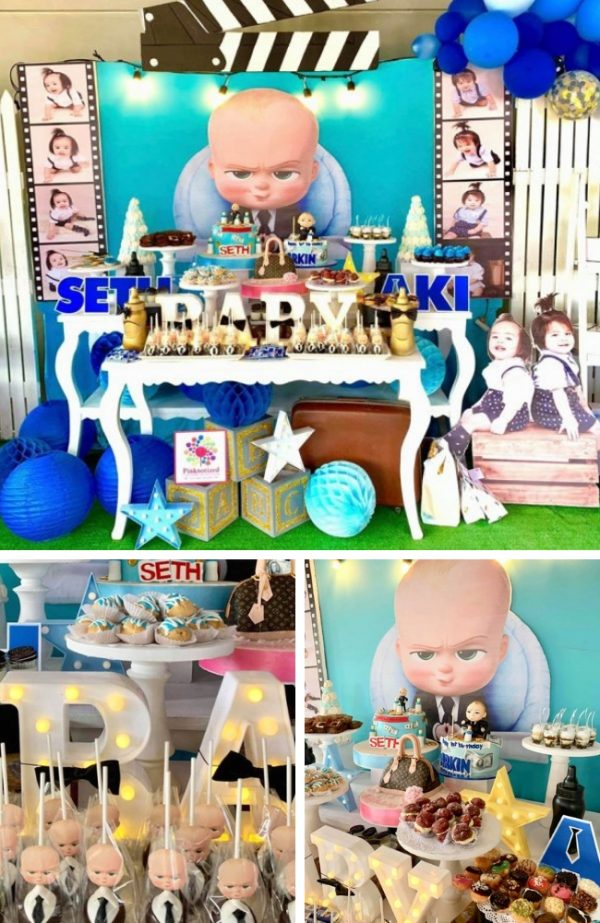 Boss Baby! Baby Shower Theme