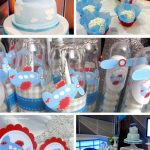 Sky is the limit Plane Baby Shower
