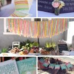 Vintage Watercolor Baby Shower