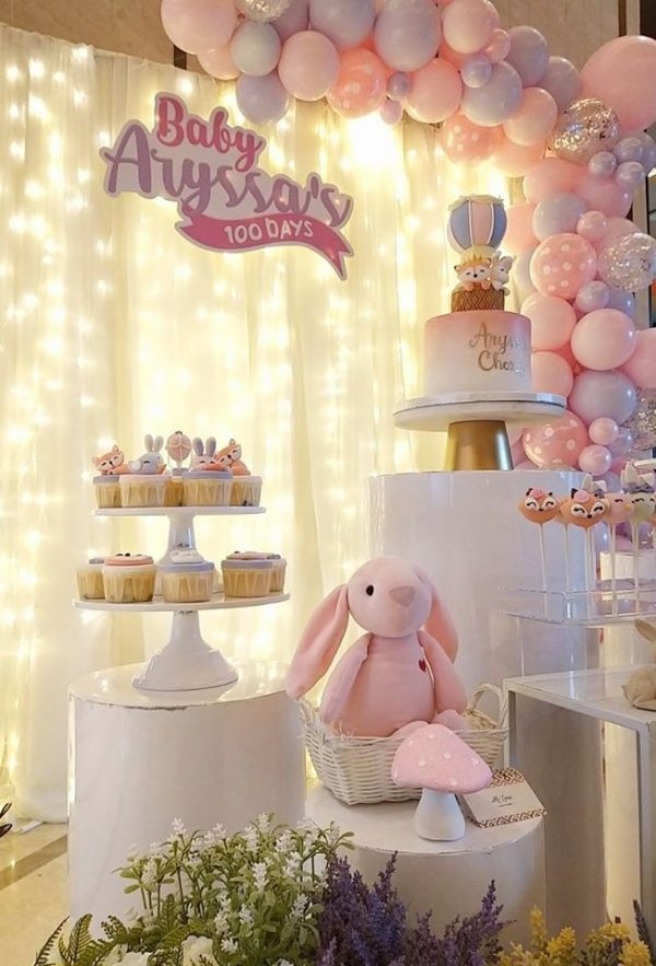 Bunny and Friends 100 Day party ideas