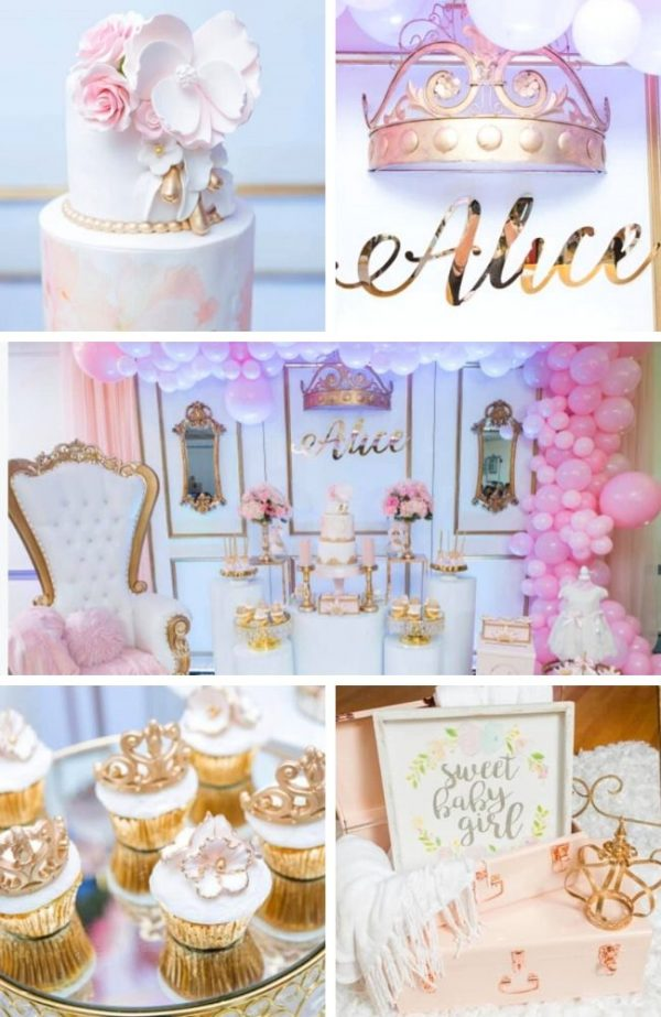 Elegant-Pink-and-Gold-Princess-Baby-Shower-Tablescape