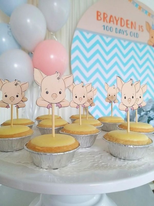 Piggy toppers