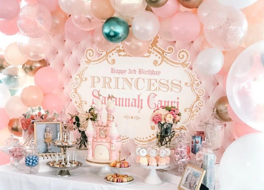 Vintage Princess Party Setup